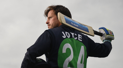 International cricket star Ed Joyce. Photo: Sportsfile