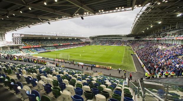 Windsor Park, pictured, bid for the 2019 UEFA Super Cup but lost out to Istanbul's Vodafone Arena