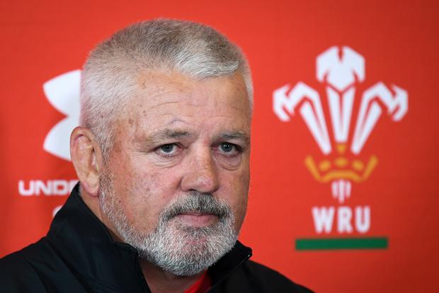 Warren Gatland. Photo: PA Wire
