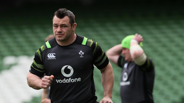 Ireland v Scotland – Ireland Captain's Run – Aviva Stadium