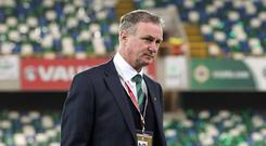 Michael O'Neill is frustrated at losing youngsters to the Republic of Ireland