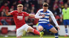 Reading's Liam Kelly (right) wants to keep his international options open