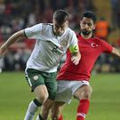Seamus Coleman returned for Ireland on Friday