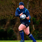 Tadhg Furlong hard at work. Photo: Ramsey Cardy/Sportsfile