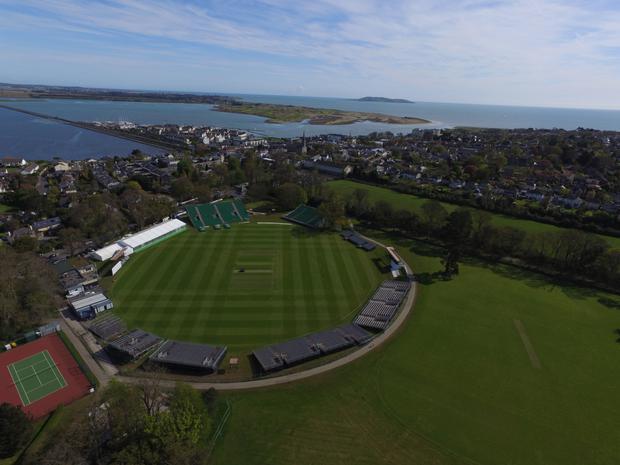 Malahide is ready for Friday's historic opening day. Photo courtesy Fingal County Council