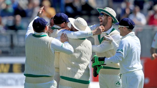 Ireland started well before being frustrated (Donall Farmer/PA)