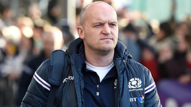 Gregor Townsend. (Ian Rutherford/PA)