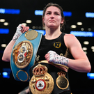 Katie Taylor. Photo: Sportsfile