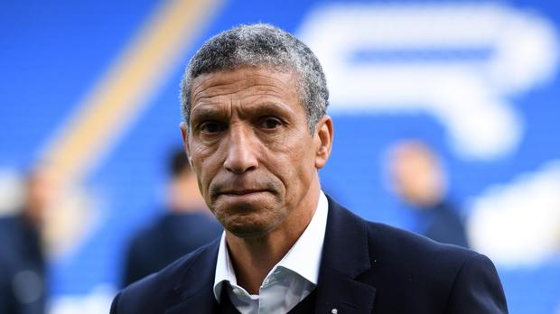 Brighton manager Chris Hughton is not interested in the Republic of Ireland job (Simon Galloway/PA)
