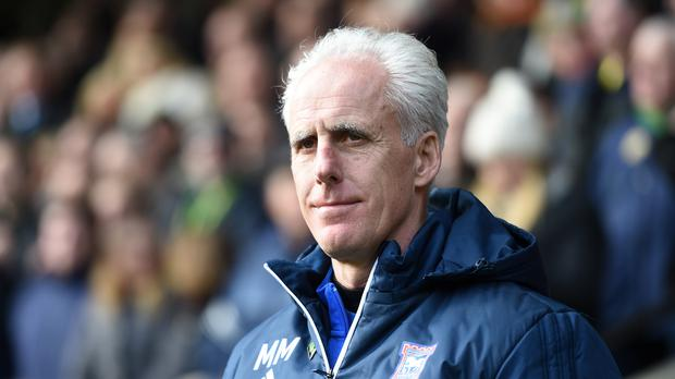 Mick McCarthy is being linked with a Republic of Ireland return (Joe Giddens/PA)