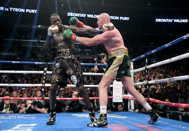 The Wilder-Fury teams, of course, are locked in discussions for a rematch next year. Photo: Getty