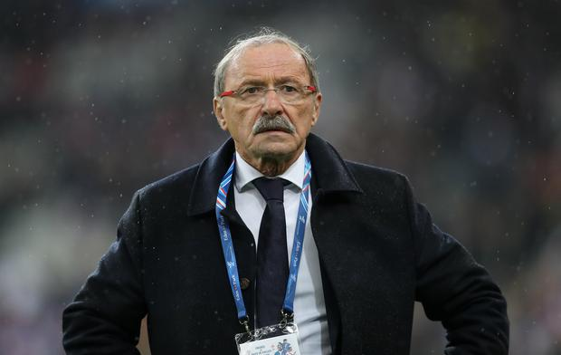 France's head coach Jacques Brunel. Photo: David Davies/PA