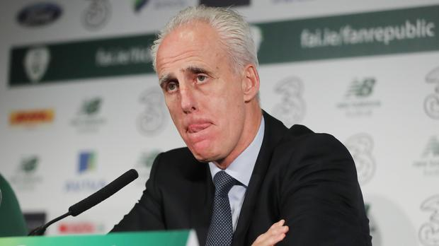 Republic of Ireland manager Mick McCarthy. Photo: Niall Carson/PA