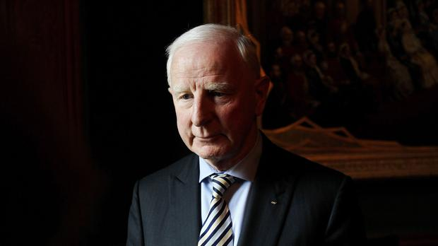 Self-suspended: Former Irish Olympic Council chief Pat Hickey. Photo: PA