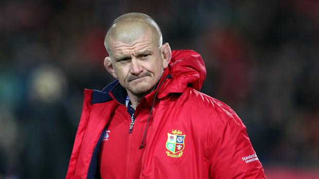 Munster's new forwards coach Graham Rowntree. Photo: PA