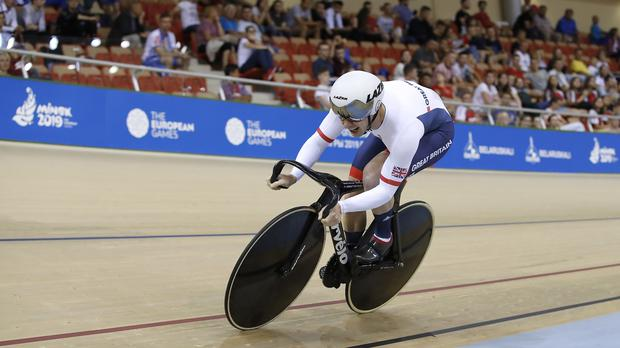 Jason Kenny missed out on a medal in the men's sprint in Minsk (Martin Rickett/PA)