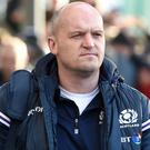 Scotland head coach Gregor Townsend. Photo: PA
