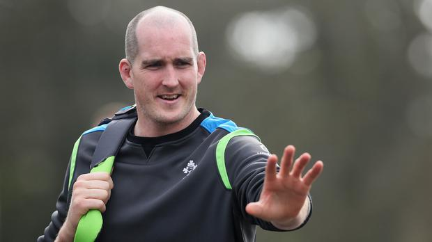 Devin Toner is the surprise omission from Ireland's World Cup ranks (Brian Lawless/PA)