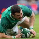 Ireland's Robbie Henshaw is likely to miss the World Cup opener (Brian Lawless/PA)