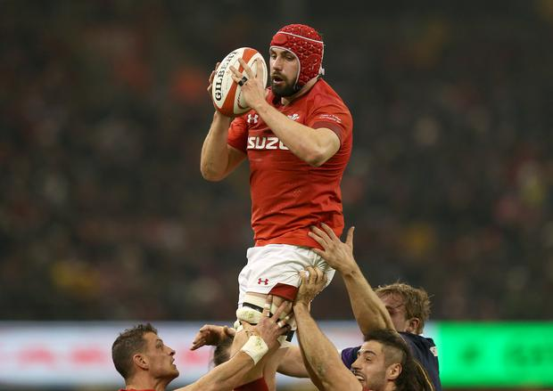 Cory Hill has been released from the Wales squad