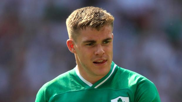 Ireland's injury problems mean Garry Ringrose will play three games in 11 days (Adam Davy/PA)