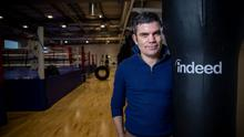 Bernard Dunne pictured at the launch of the new 'Indeed Career Coach' programme which aims to tackle the core issues high-performance athletes encounter when transitioning to life outside elite sport