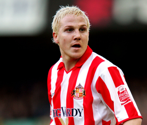 Sean Thornton in action for Sunderland against Everton in the fourth round of the 2005 FA Cup