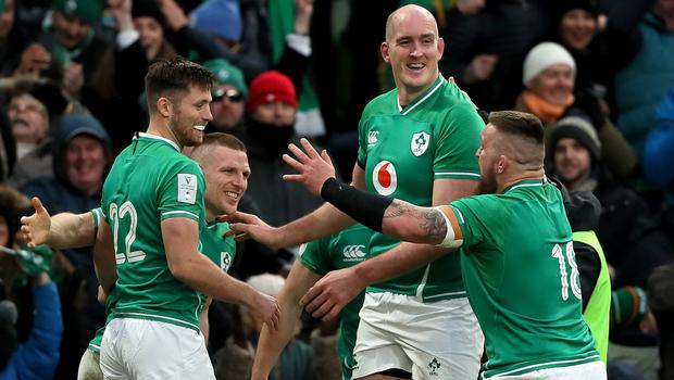 Ireland have two wins from two games (Brian Lawless/PA)