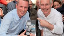 Today FM's Ray D'Arcy with Gerry Duffy at his book launch