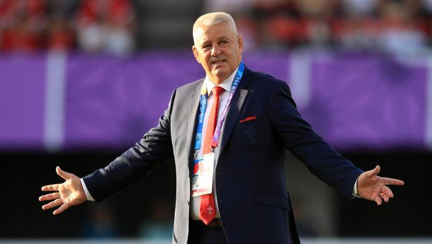 Warren Gatland will coach the Lions against South Africa in 2021 (Adam Davy/PA)