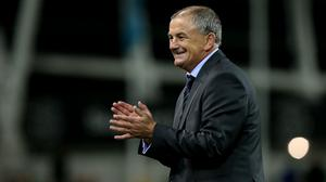Noel King's Republic of Ireland Under-21s are preparing to face Russia.