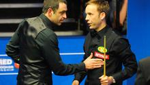 File photo of Ronnie O' Sullivan (left) and Ali Carter. O'Sullivan has been given a bye into the semi-finals of the Welsh Open after last-eight opponent Carter fell ill. Photo: Rui Vieira/PA Wire