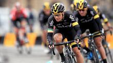 Nicolas Roche recorded the first victory of this year's Vuelta for Team Sky