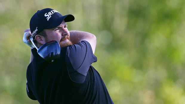 Shane Lowry was in an excellent position after 36 holes at Chambers Bay