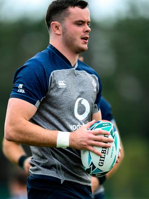 James Ryan during Ireland Rugby squad training