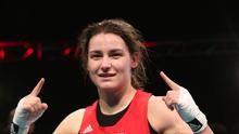 Katie Taylor won a fifth consecutive world boxing title in Jeju City, South Korea.