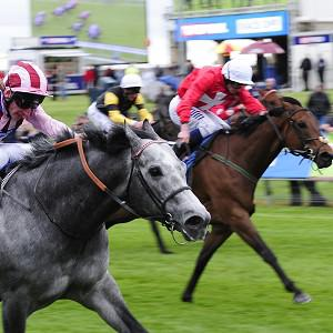 Gordon Lord Byron (white cap) finishes well for third