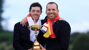 Rory McIlroy will act as a groomsman for Sergio Garcia next month