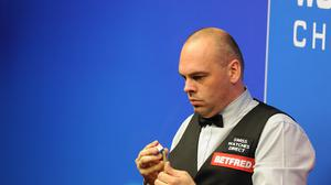 Stuart Bingham has reached the semi-finals of the Shanghai Open in China.