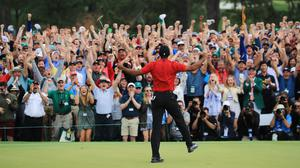 Michael Bamberger: 'What would reveal Tiger's character more in that scenario? Okay, so he made a bogey (on 18) and won by one. Let's say he makes a double on 18 and loses the play-off. Then we would have really seen something.'