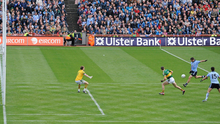Kevin McManamon's momentum shifting goal in the 2011 All-Ireland final. Photo: Sportsfile