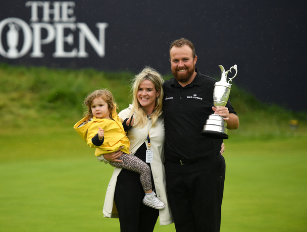 Lowry's deep affection for Portrush, where he won the 2008 North of Ireland Championship, has since been proclaimed in the simple words, 'I love the place'. Photo: Sportsfile