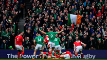 Ireland's victories over Scotland and Wales in recent Six Nations encounters at the Aviva Stadium have cranked up the hype bandwagon once again. Photo: Brendan Moran/Sportsfile