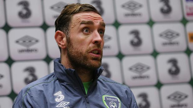 Republic of Ireland defender Richard Keogh
