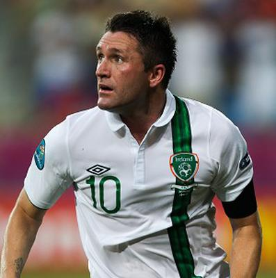 Robbie Keane is relishing the prospect of facing England at Wembley