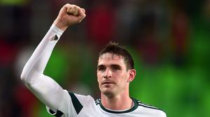 Kyle Lafferty was back on target for Northern Ireland