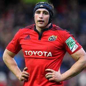 Tommy O'Donnell was named Munster's player of the year