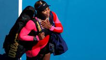 Serena Williams of the U.S. leaves the court after losing her semi final match against Japan's Naomi Osaka REUTERS/Asanka Brendon Ratnayake