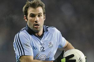 Bryan Cullen makes his first competitive start of 2014 for Dublin
