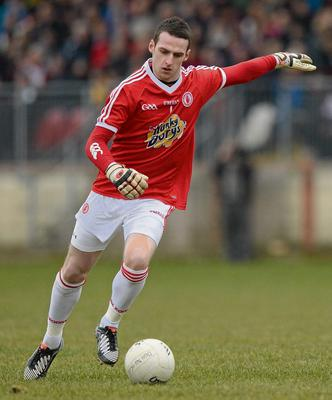 3 March 2013; Niall Morgan, Tyrone. Allianz Football League, Division 1, Tyrone v Donegal, Healy Park, Omagh, Co. Tyrone. Picture credit: Oliver McVeigh / SPORTSFILE